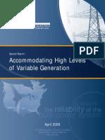 Comm_PC_Integration of Variable Generation Task Force IVGT_ivgtf_report_041609