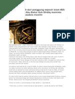 25 Kesungguhan Abu Bakar Ash-Shidiq Meminta Maaf Kepada Saudara Muslim