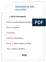 Monografia Del Bullying