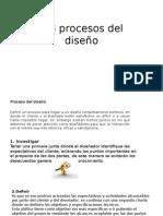 1.3 Proceso Del Diseño