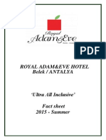 Royal Adam Eve 2015 Summer_ Facsheet English