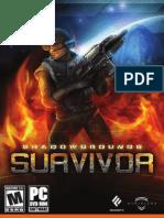 Shadowgrounds Survivor - User's Guide UK