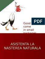 Asistenta La Nastere 1
