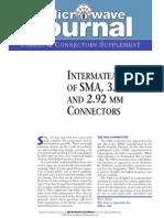 RF Intermateability SMA Connectors