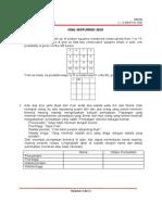 Soal OSN Matematika MI (Eksplorasi)