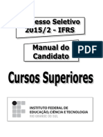 Manual Do Candidato Cursos Superiores Por Andreia Pedroso 29-4-2015 1