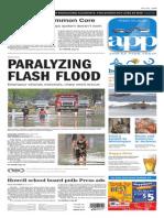 Asbury Park Press front page Friday, May 29 2015