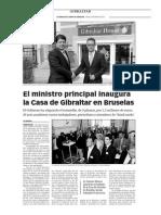 150529 La Verdad- Implantados en Bruselas
