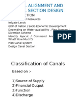 Canal Alignment