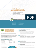 TRUSTe Data Privacy Management Solutions Overview Brochure