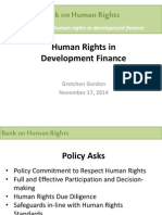 1. Human Rights in Development Finance