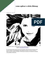 Photoshop_efeito Bitmap Em Fotos