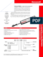Honeywell Sensing Short Longfellow Linear Position Transducer Productsheet