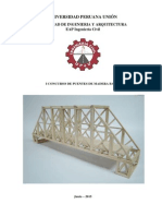 Bases I Concurso de Puentes de Madera Balsa UPeU v-2015