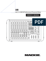Mackie PPM608 PA Manual