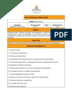 PEA 2014 1 ADM5 Analise de Investimentos