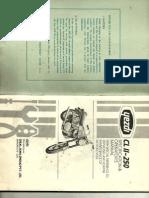 Yezdi CL2 Manual