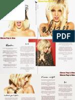 Alizée Blonde Booklet 2014