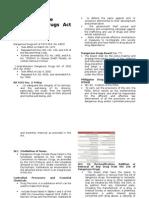 Comprehensive Dangerous Drugs Act of 2002 Written Report