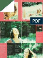 Alizée Booklet CD Gourmandises 2000