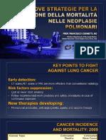 Nuove strategie per la riduzione della mortalità nelle neoplasie polmonari