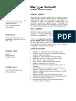 Bharggav Polisetti Profile