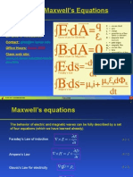 Lecture 06 - Maxwell Eqn