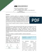 Informe 4. Reacciones de Aldehídos y Cetonas