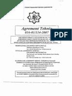 64661049 Agrement Tehnic BST500S