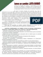 Elecciones de UDocBA San Martín