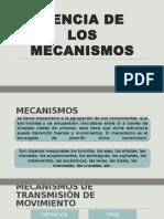 Ciencia de Mecanismos