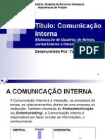 Apresentao Projetocomunicaointerna 120820110111 Phpapp01