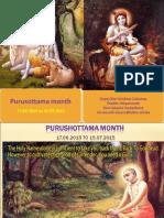 Purushottama Month 2015 Part 1