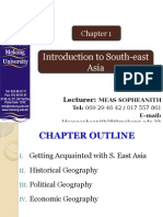 Chapter 1 Introduction to Southeast Asia Revised