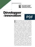 Développer innovation
