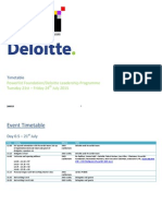 2015 Timetable - Powerlist Foundation & Deloitte Leadership Programme (EXTERNAL ONLY) - Updated 280515