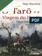 Tarô e a Viagem Do Herói - Hajo Banzhaf