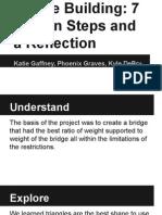bridge building design thinking process