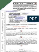 100211 G54449 00 John Brumby Premier COMPLAINT Etc