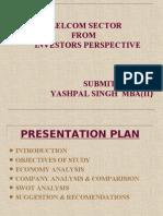 Telicom Sector of Investor Prespective-yashpal