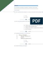 Test JAVA Fundamentals Final Exam