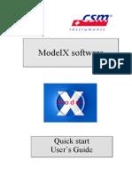 ModelX Software