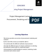 L4 - Tendering Contracts and Procurement (Rev 3)