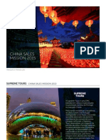 至尊旅行 - China Sales Mission 2015