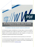 Si Tu Empresa No Tiene Web No Existe. Marketing Agropecuario