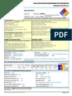 Naranja de Metilo -----Hds Formato 13 Secciones, Qmax