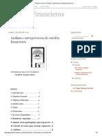 Estados Financieros_ Análisis e Interpretacion de Estados Financieros