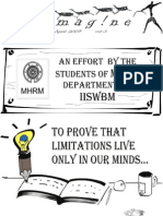 E-magazine of the Department of MHRM, IISWBM_April09