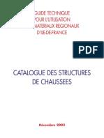Catalogue des Structures de Chaussee Neuves_2003