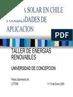 Energía Solar en Chile
